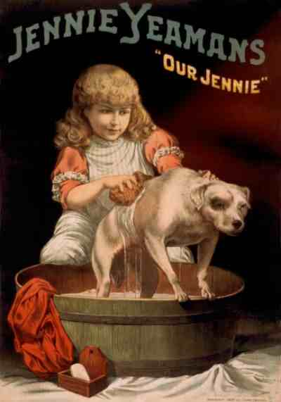 Vintage Jennie Yeamans Poster by Dawn Hudson