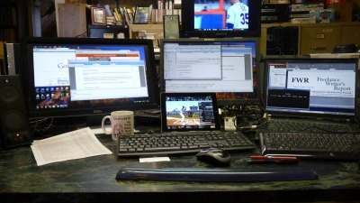 Multitasking desk Copyright Dana K Cassell