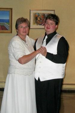 Elizabeth Churchill and Son